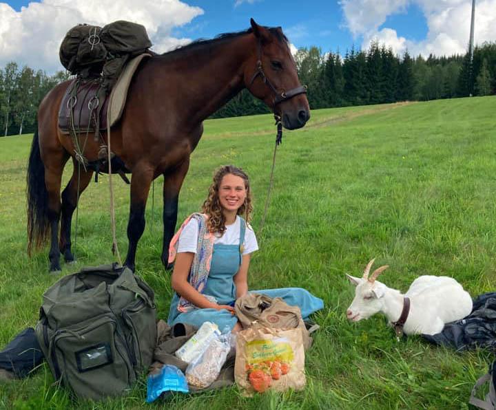 Journey on Horseback with Siarah